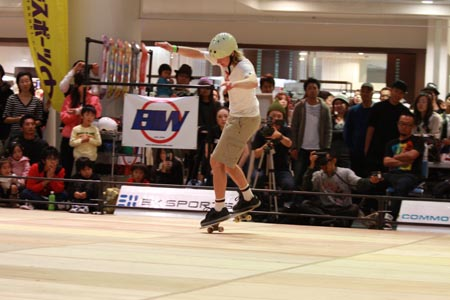 Stefan Lillis Akesson Skateboard Contest in Japan