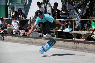 藤井 雅博 フリースタイル スケートボード コンテスト