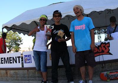 2011フリースタイルスケートボードコンテスト エスパルズドリームプラザ