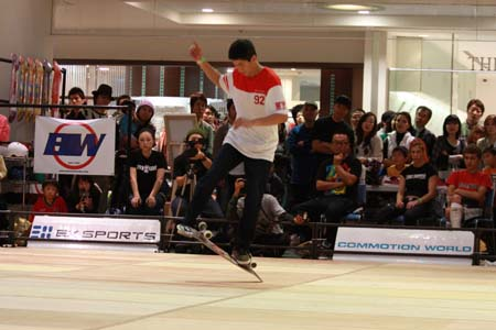 Rene Shigueto Marubayashi Freestyle Contest in Japan