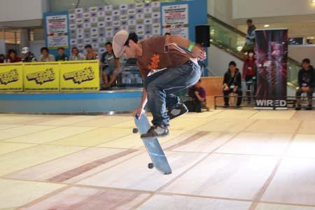 Masahiro Fujii in Japan Freestyle Skateboard