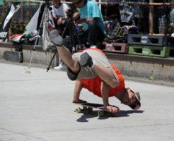 石野 勝 フリースタイルスケートボーダー